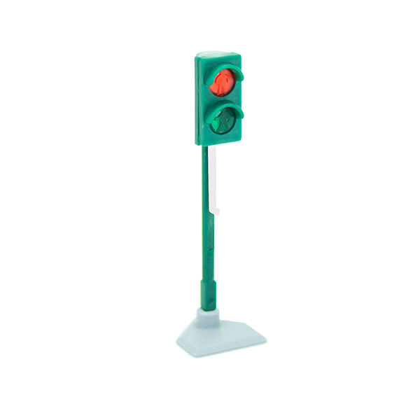 Green pedestrian traffic light