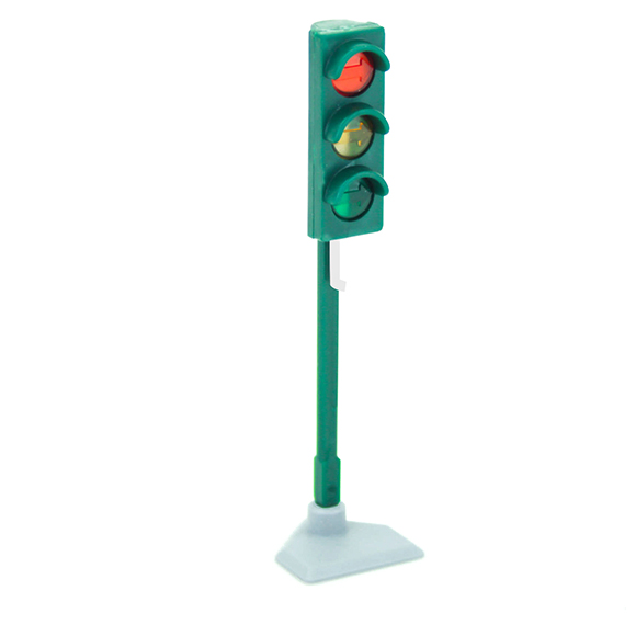 Green traffic light- Right direction
