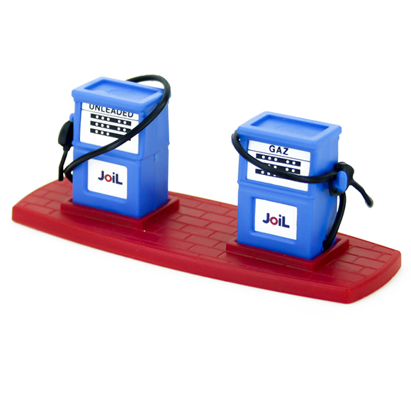 Joil gas station Blue- Red