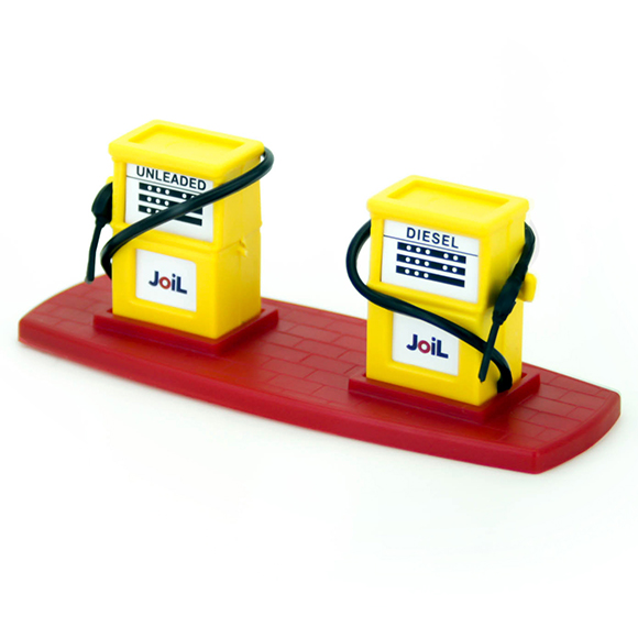 Joil gas station Yellow- Red