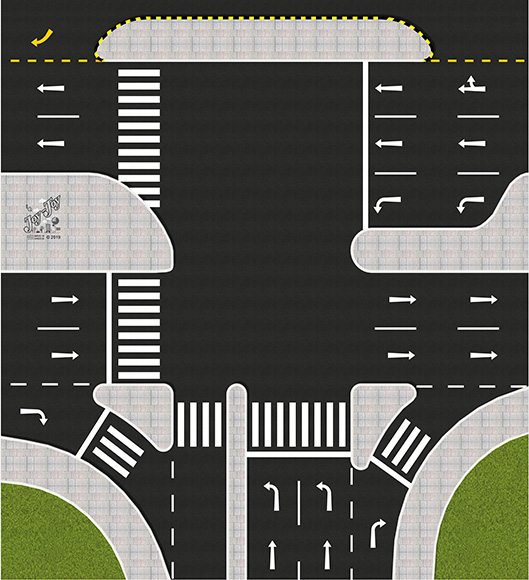 "Race truck ""Road node"""